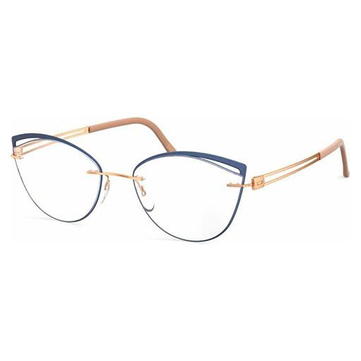 Rama de ochelari pentru femei Silhouette Accent Rings