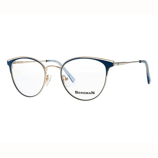 Rama de ochelari pentru femei albastra Bergman 5057-C10