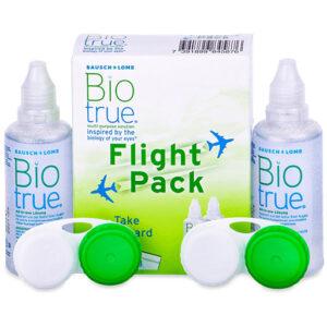 Solutie Biotrue Pachet Travel 2x60ml